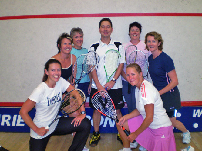 Adults Squash Coaching Auckland