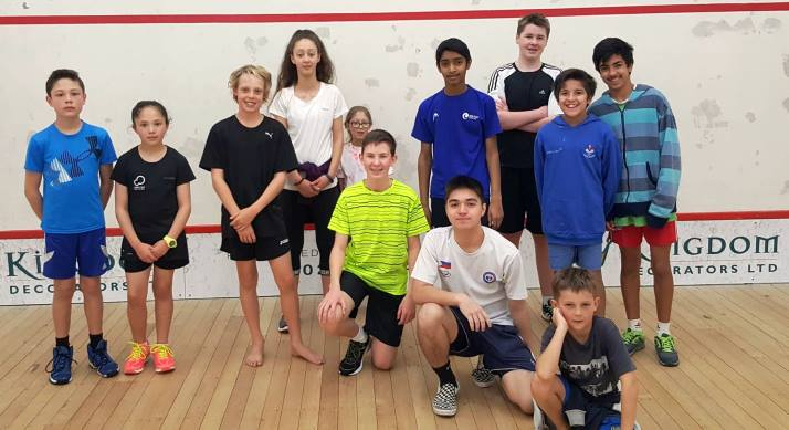After-school squash programme