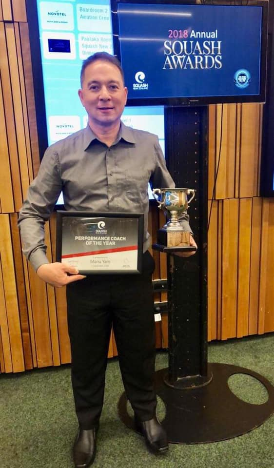 2018 NZ Performance Coach of the Year Winner