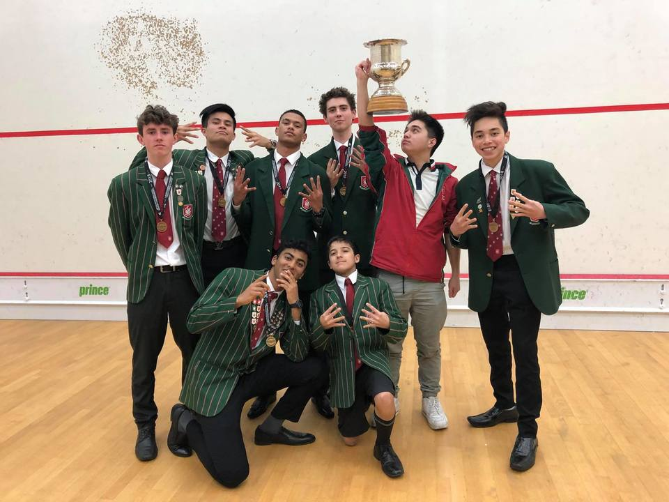 2018 Westlake Boys Squash Team - National Champions 4 years in a row